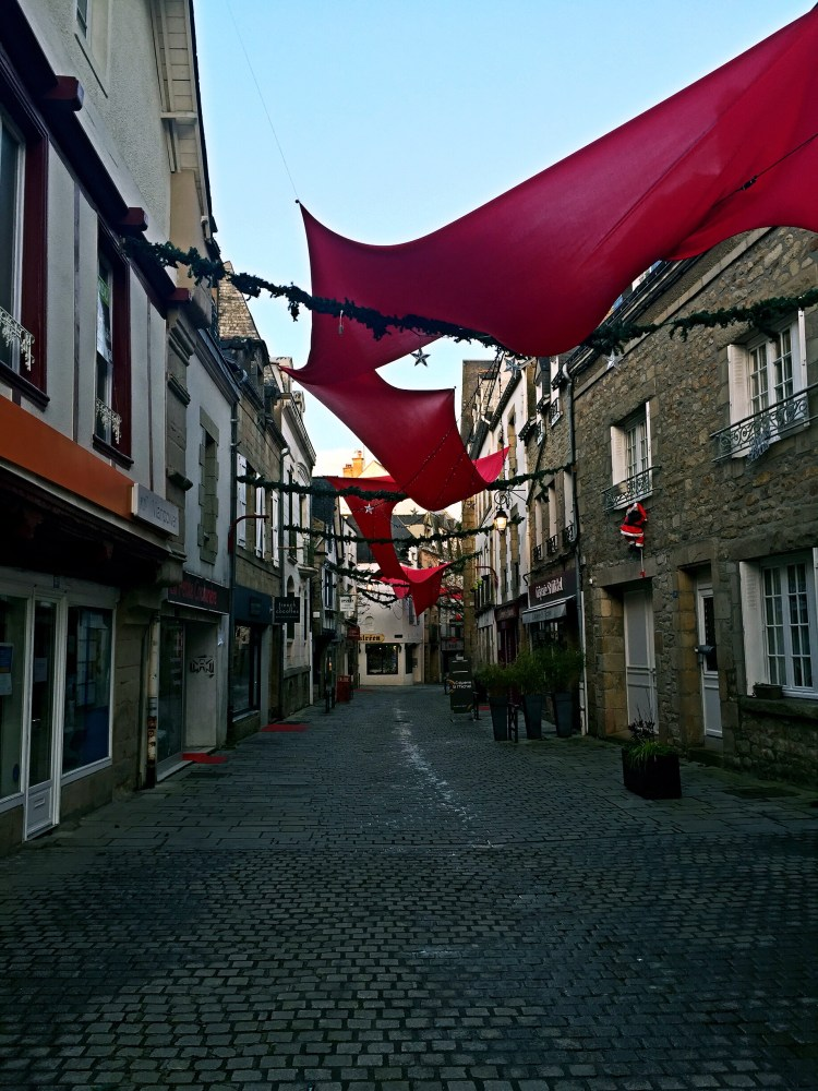 Cobbled streets of Auray - Auray Brittany