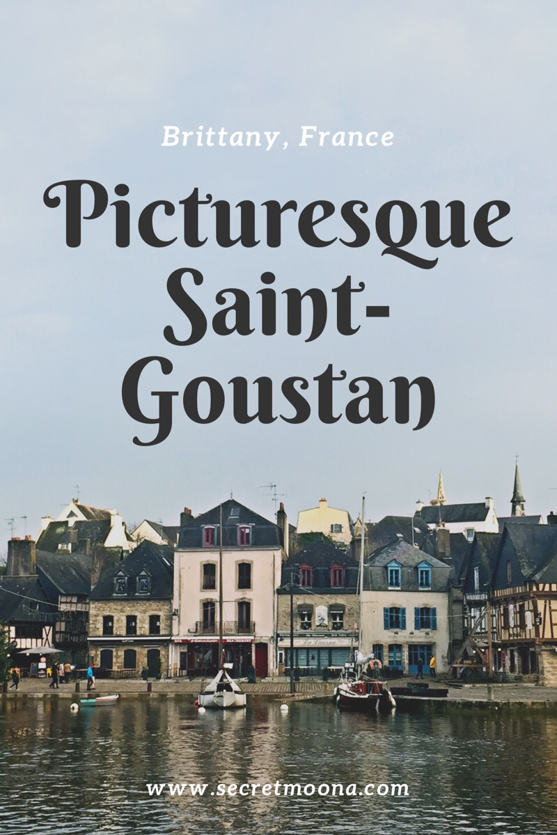Quaint town Saint-Goustan - Auray Brittany
