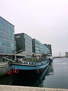 Boat by Malmö port