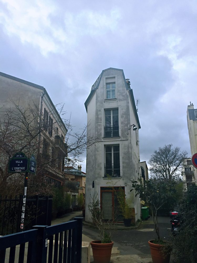 Cite Leroy - Street art in Paris - self-guided tour of Belleville and Menilmontant