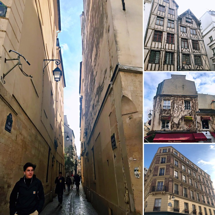 Old neighborhood of Le Marais - walking tour in Le Marais