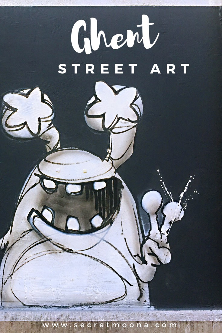 Street art - Ghent street art
