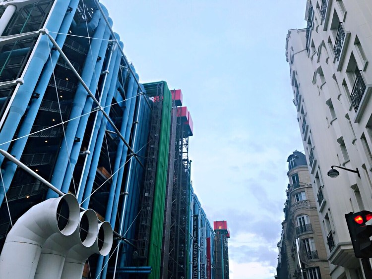 Centre Pompidou - Walking tour Le Marais