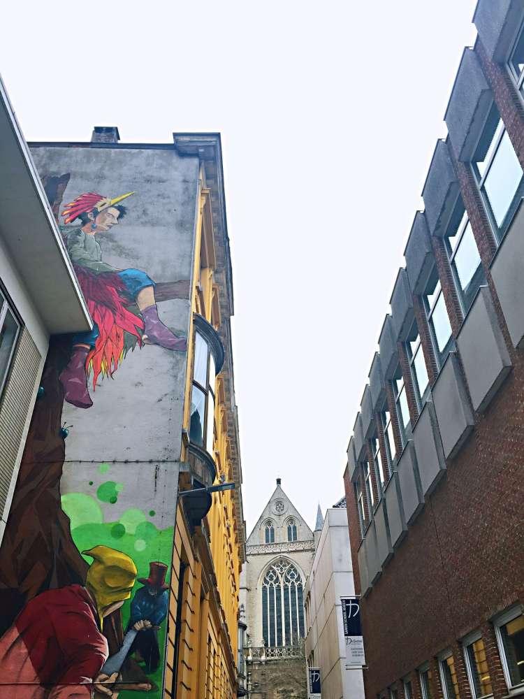 Street art - 24 Hours in Antwerp