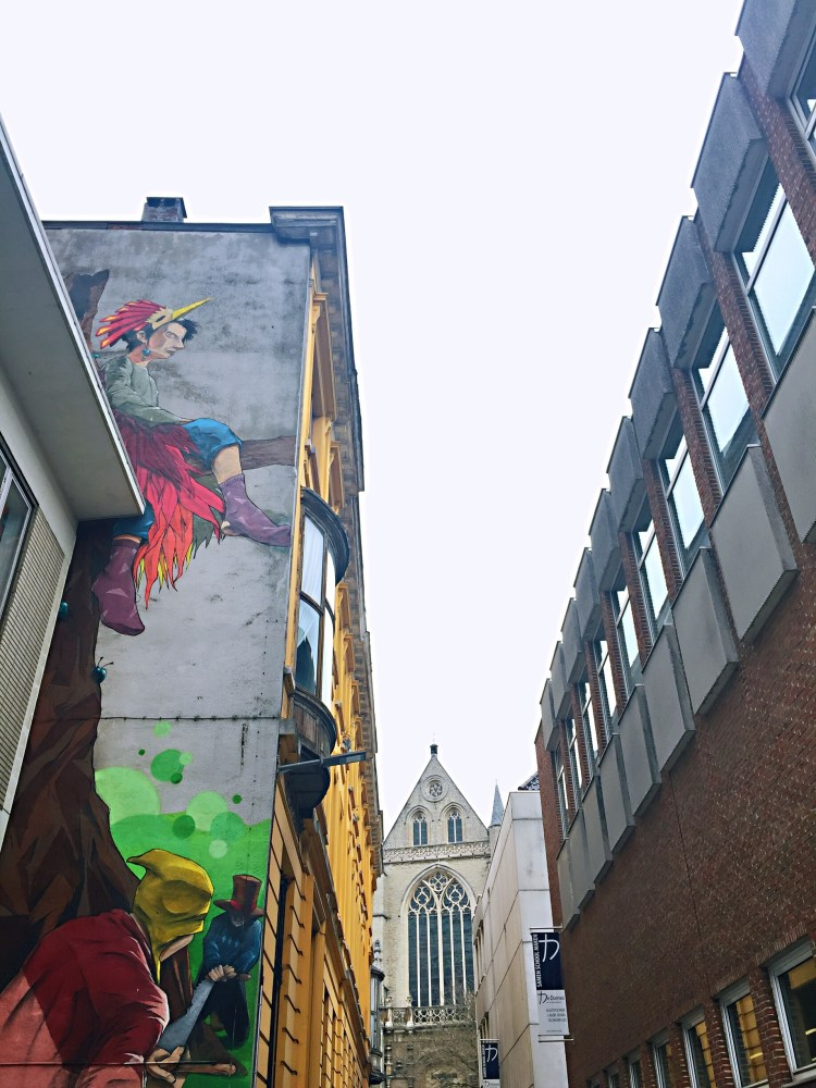 Street art - 24 Hours in Antwerp