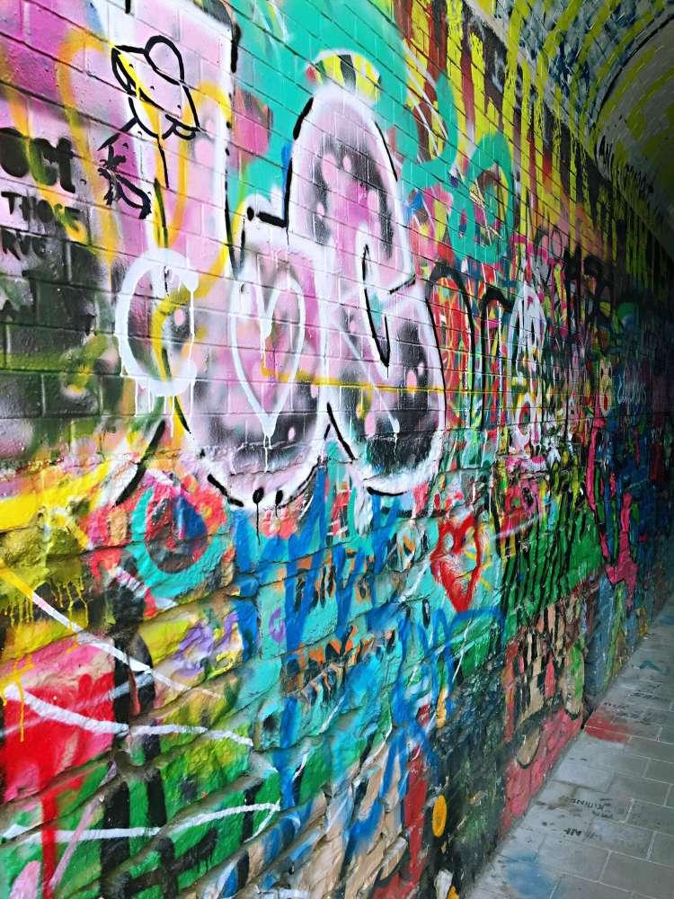 Graffiti alley - Ghent street art