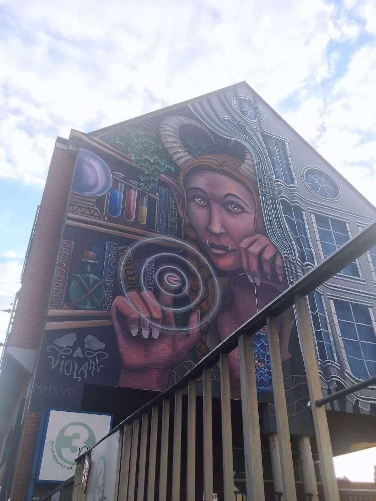 Violant Pierre De Geyterstraat - Ghent street art - SecretMoona