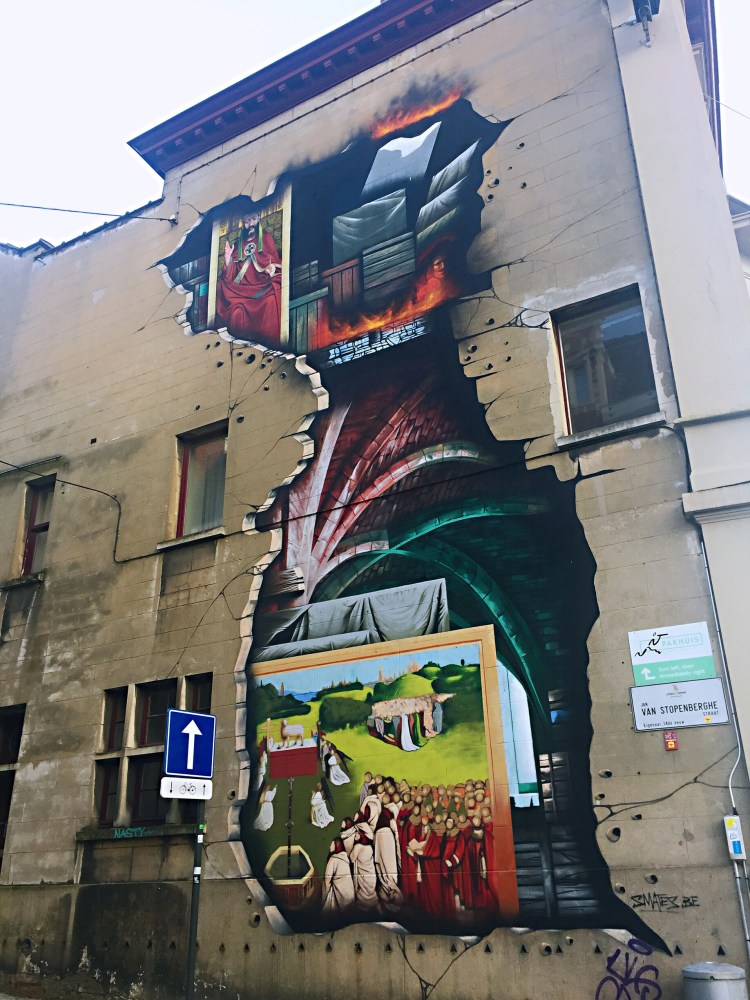 SMATES Jan van Stopenberghestraat- Ghent street art - SecretMoona