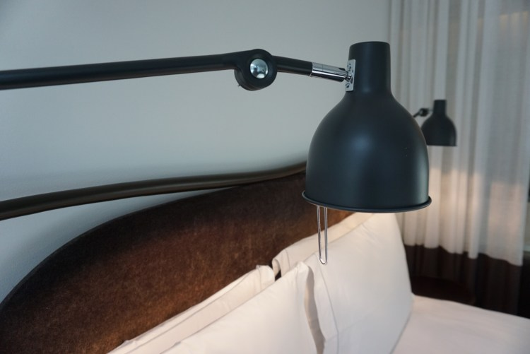 Close-up Bed at Miss Clara by Nobis - a day in Stockholm