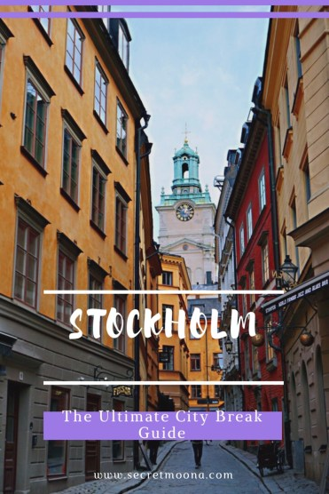 Stockholm ultimate travel guide Pinterest - Gamla Stan