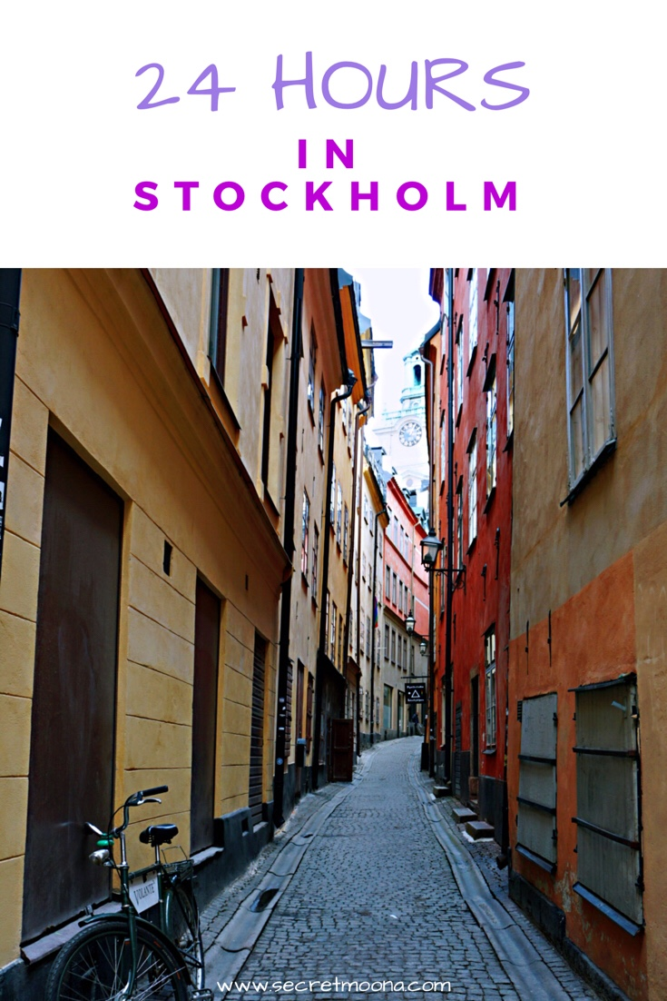 24 Hours in Stockholm - one day in Stockholm