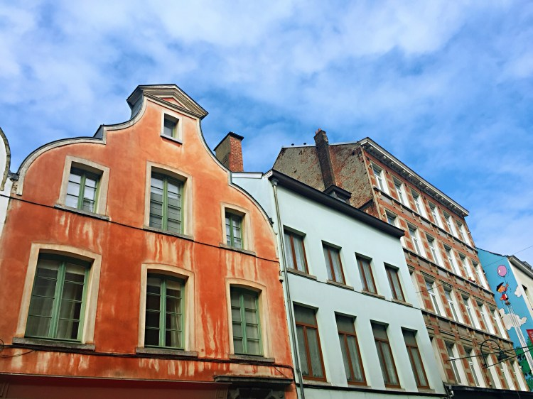 Old colourful buildings in Brussels - Brussels attractions