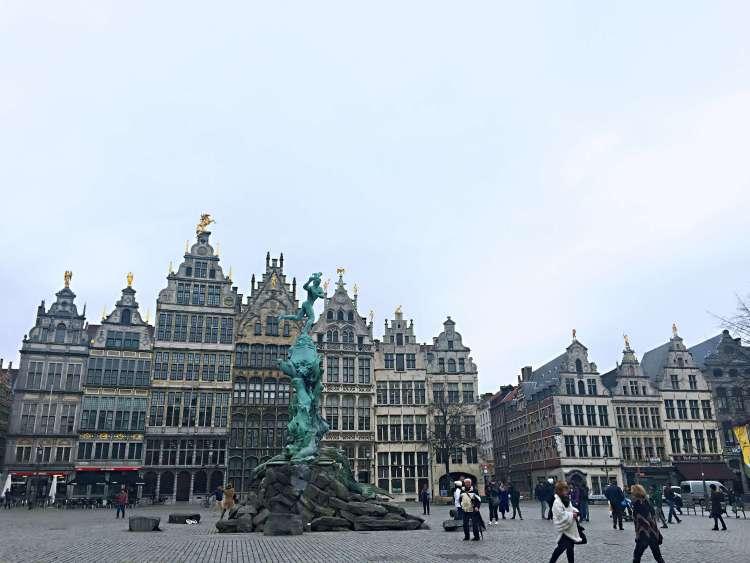 Grote Markt - Belgium photo diary