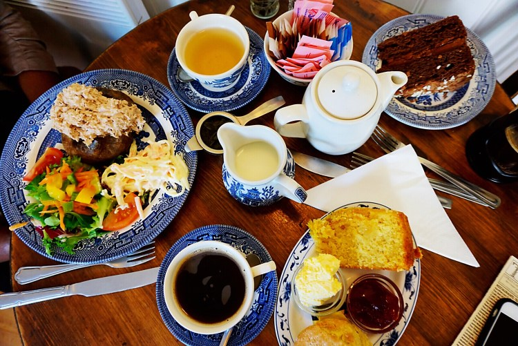 Food at the Cobbles Tea Room - Rye East Sussex