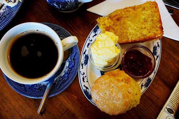 Afternoon tea at the Cobbles Tea Room - Rye East Sussex