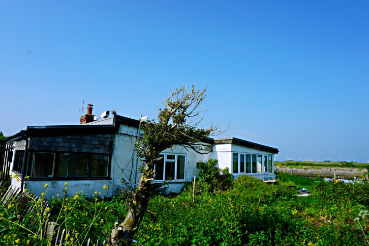 Abandoned house at Rye Harbour - Rye East Sussex