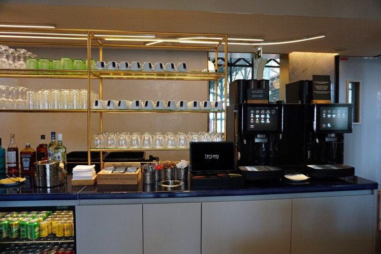 Eurostar Business Premier Lounge Paris Gare du Nord review