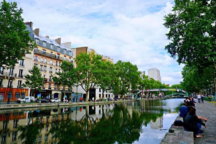 Quai de la Seine - canal saint martin