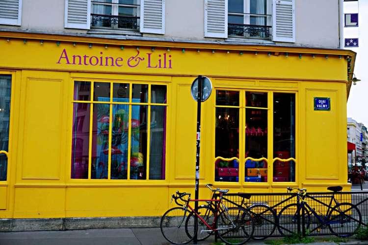Antoine and Lili - Canal saint martin