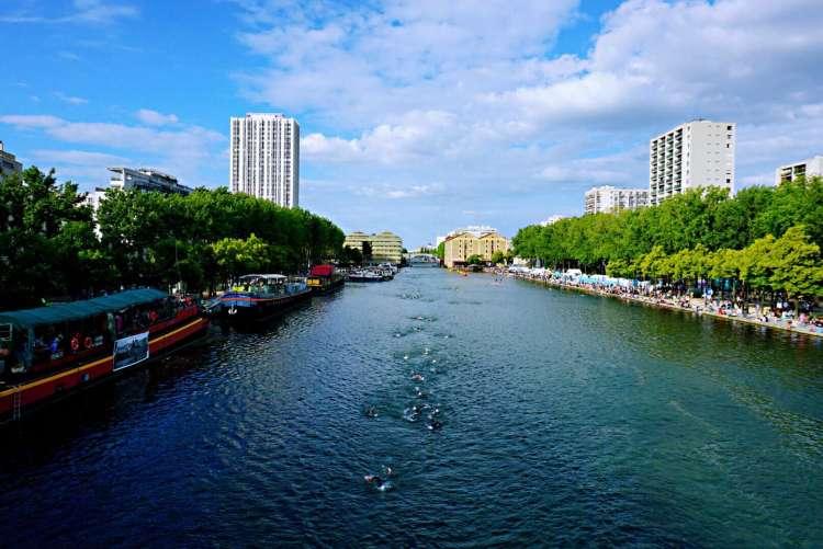 Bassin de la Villette - canal saint martin