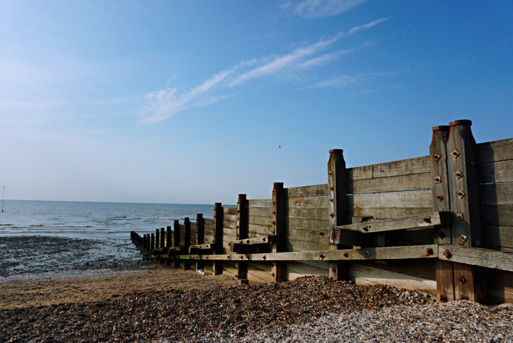 Whitstable seaside groins - Whitstable day trip seaside town things to do