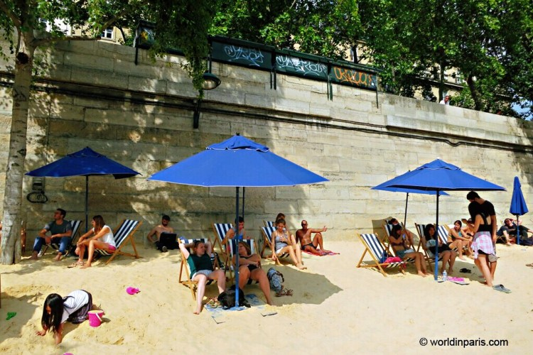 Paris Plages, Paris - Nice beaches in France