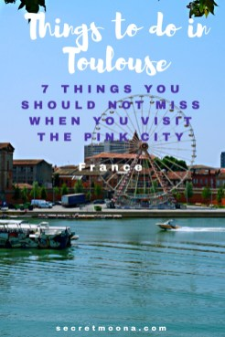 Things to do in Toulouse, France. Blue, pink and violet: these are Toulouse's colours.From the banks of the river Garonne to the pink coloured buildings in the old town and the Capitole square, discover the things to do in Toulouse and especially the 7 things you shouldn't miss out when you visit the Pink City.