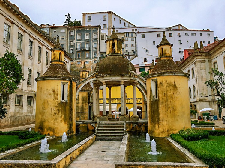 Yellow dome building in Coimbra - One day in Coimbra