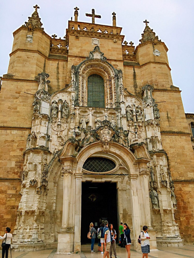 Front facing view of Monastery of Santa Cruz - One day in Coimbra