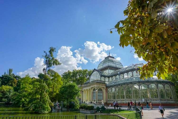 Palacio de Cristal - Weekend breaks in Madrid