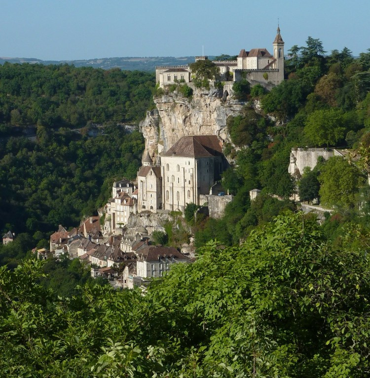 Rocamadour village, a picturesque UNESCO world heritage site in France - Toulouse travel guide