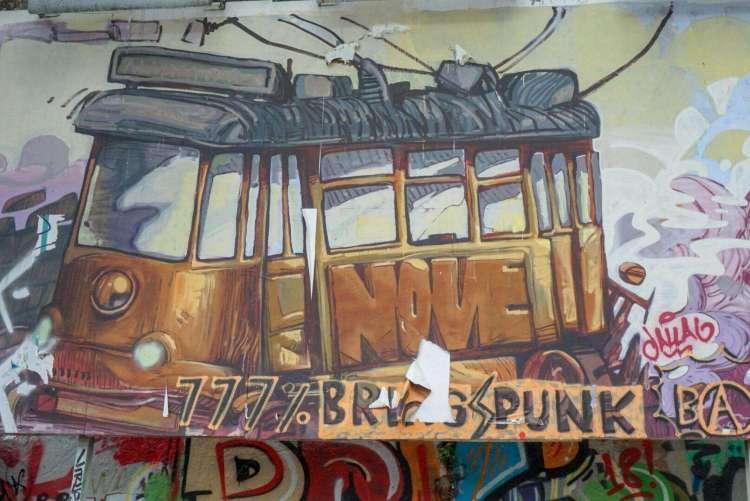 Tram art - 3 day in Lisbon