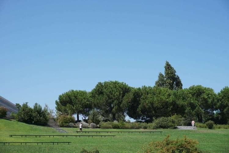 Park in Belem - 3 day in Lisbon