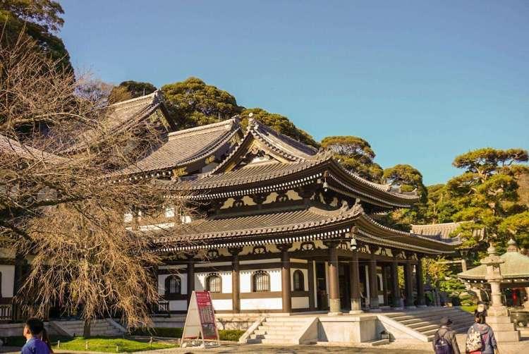Hase Kannon Temple Hall - Kamakura day trip