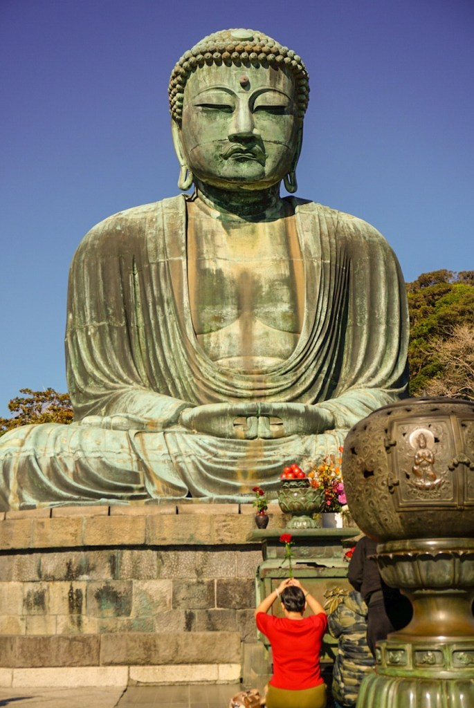 the Great Buddha of Kamakura - Kamakura day trip