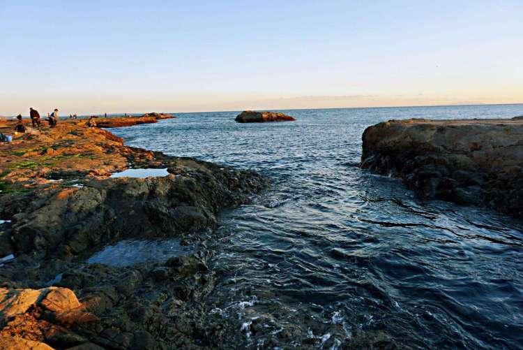 Enishima Island's coast - Enoshima day trip