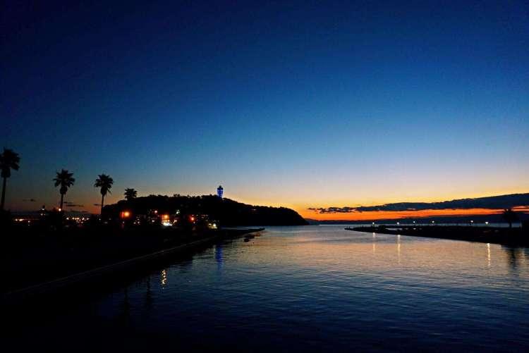 View over Enoshima Island - Enoshima day trip