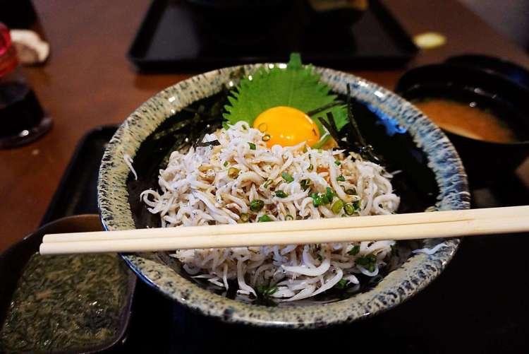 Shirasu donburi - Enoshima day trip