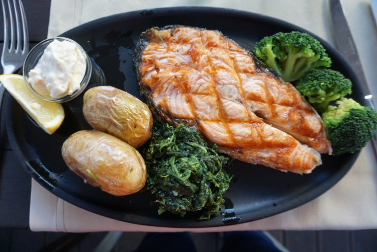 Salmon and potatoes - 3 day in Lisbon