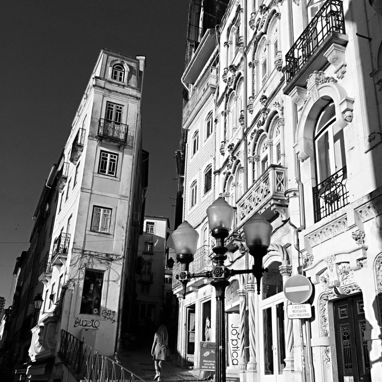 Coimbra architecture - One week in Portugal