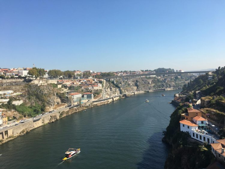River cruise boat - 2 days in Porto, Portugal