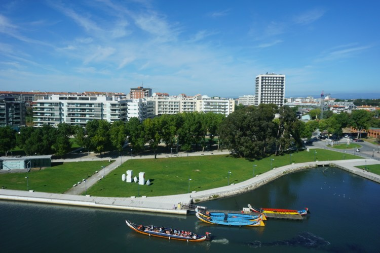View from Melia Ria hotel - One week in Portugal