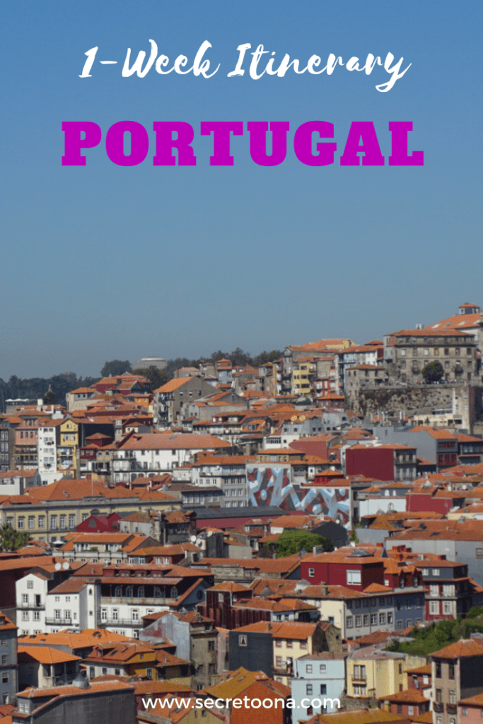 One week in Portugal Itinerary. Planning a trip to Portugal? Here's the ultimate Portugal travel itinerary. Explore beautiful cities in Portugal from Lisbon to Porto, and Central Portugal (Aveiro and Coimbra). Here's what you need to know for your holiday  #Portugal #Porto #Lisbon #Coimbra #Aveiro