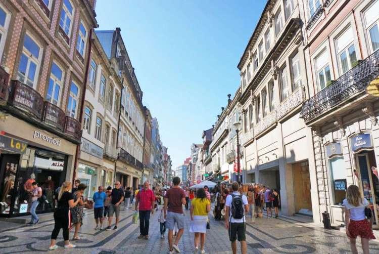Rua Santa Catarina - 2 days in Porto, Portugal