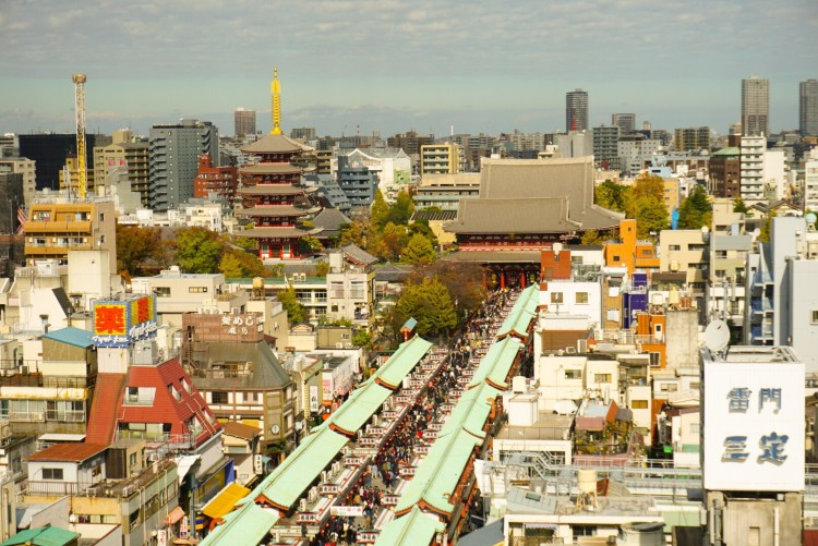Asakusa Sensoji temple - planning a trip to Japan for the first time