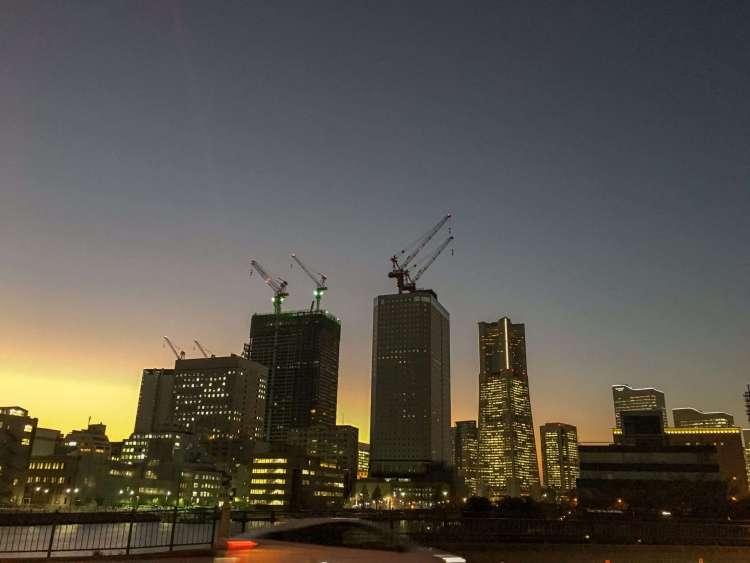 Yokohama skyline by night - Things to do in Yokohama
