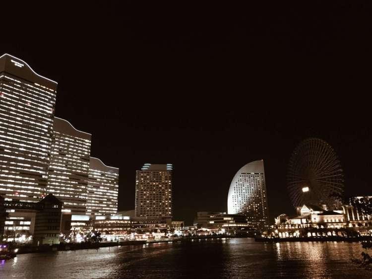 Minato Mirai at night - Things to do in Yokohama