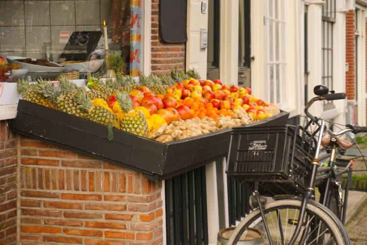 Cute fruit shop - Amsterdam photo diary