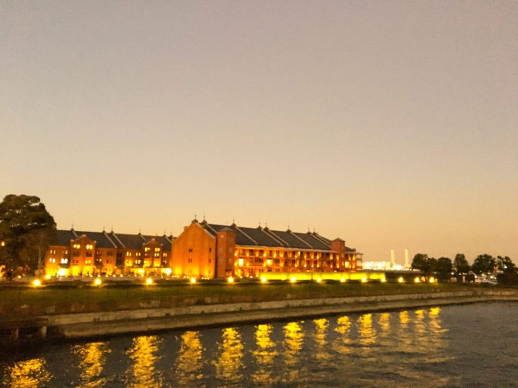 Red Brick Warehouse in the evening - Things to do in Yokohama