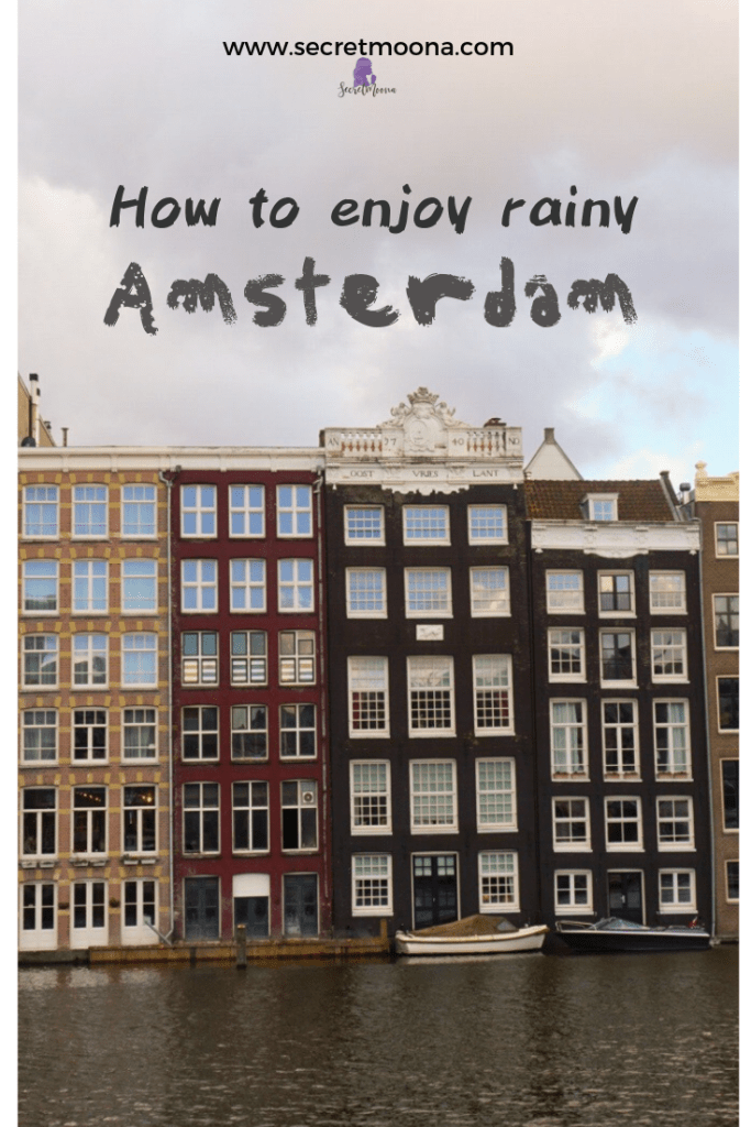 Amsterdam in the rain? Rain shouldn't stop you from enjoying your trip. Luckily big cities like Amsterdam have plenty of things to do on good or bad days. #amsterdam #cityguide #rain